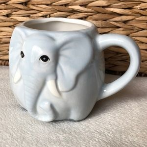 NWT Elephant Mug Light Blue